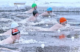 Changes in winter swimming season